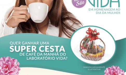 Laboratório Vida lança campanha para o Dia da Mulher
