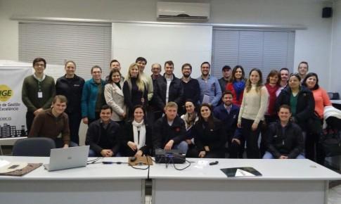 Laboratório Vida marca presença no Curso Excelência SC 125 Pontos em Joaçaba
