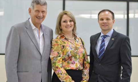 Maribel Gaio toma posse como Vice-Presidente Regional do Excelência SC