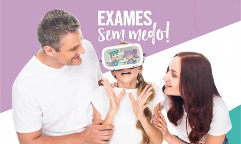 Novidade:  exames com realidade virtual