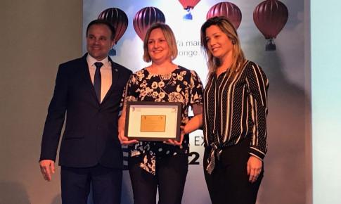 Laboratório Vida recebe o Prêmio Catarinense da Excelência em Florianópolis