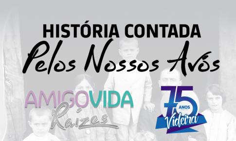Conheça o AmigoVida Raízes, livro sobre o centenário de emigração de nossos avós e os 75 anos de Videira