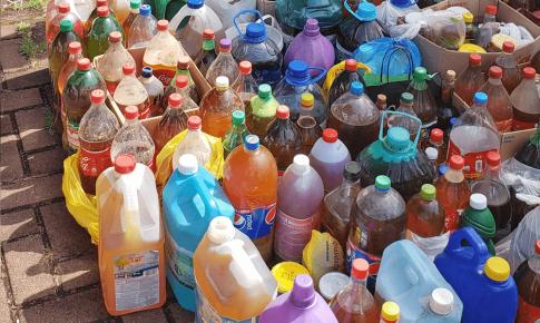 Projeto Hábito Legal recolhe 685 litros de óleo de cozinha usado