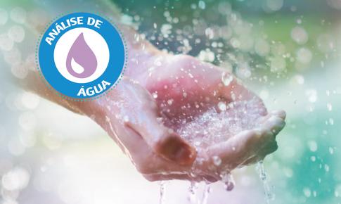 Nós conferimos a qualidade da água que você bebe.