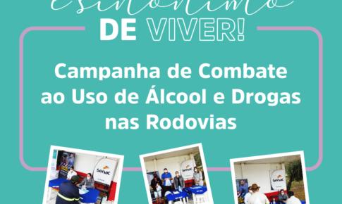 Amigovida e SEST Senat realizam campanha de Combate ao Uso de Álcool e Drogas nas Rodovias
